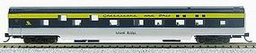 Con-Cor 85 Smooth-Side Sleeper Chesapeake & Ohio N Scale Model Train Passenger Car #40091
