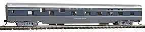 Con-Cor 85 Smooth-Side Sleeper Santa Fe N Scale Model Train Passenger Car #40096