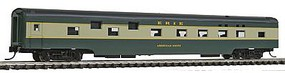 Con-Cor 85 Smooth-Side Sleeper Erie N Scale Model Train Passenger Car #40098