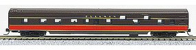 Con-Cor 85 Smooth-Side Sleeper Illinois Central N Scale Model Train Passenger Car #40099