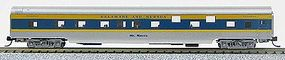 Con-Cor 85 Smooth-Side Sleeper Delaware & Hudson N Scale Model Train Passenger Car #40107