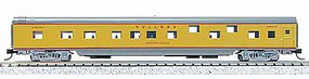 Con-Cor 85 Smooth-Side Sleeper Wabash N Scale Model Train Passenger Car #40109