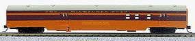 Con-Cor 85 Smooth-Side Railway Post Office Milwaukee N Scale Model Train Passenger Car #40136