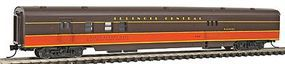 Con-Cor 85 Smooth-Side Railway Post Office Illinois Central N Scale Model Train Passenger Car #40149