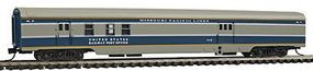 Con-Cor 85 Smooth-Side Railway Post Office Missouri Pacific N Scale Model Train Passenger Car #40153