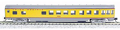 Con-Cor 85' Smooth-Side Observation Union Pacific -- N Scale Model Train Passenger Car -- #40175