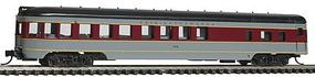 Con-Cor 85 Smooth-Side Observation Erie Lackawanna N Scale Model Train Passenger Car #40180