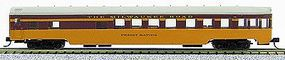 Con-Cor 85 Smooth-Side Observation Milwaukee Road N Scale Model Train Passenger Car #40186
