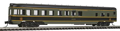 Con-Cor 85' Smooth-Side Observation Canadian National -- N Scale Model Train Passenger Car -- #40187