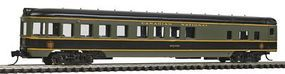 Con-Cor 85 Smooth-Side Observation Canadian National N Scale Model Train Passenger Car #40187
