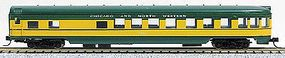 Con-Cor 85 Smooth-Side Observation Chicago & Northern N Scale Model Train Passenger Car #40188