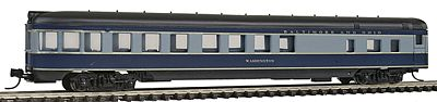 Con-Cor 85' Smooth-Side Observation Baltimore & Ohio -- N Scale Model Train Passenger Car -- #40190