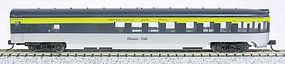 Con-Cor 85 Smooth-Side Observation Chesapeake & Ohio N Scale Model Train Passenger Car #40191
