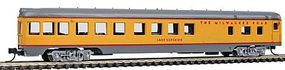 Con-Cor 85 Smooth-Side Observation Milwaukee Road N Scale Model Train Passenger Car #40192