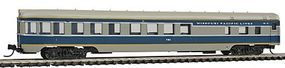 Con-Cor 85 Smooth-Side Observation Missouri Pacific N Scale Model Train Passenger Car #40203