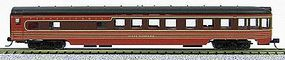 Con-Cor 85 Smooth-Side Observation Pennsylvania Railroad N Scale Model Train Passenger Car #40208