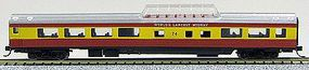 Con-Cor 85 Smooth-Side Mid-Train Dome Royal American N Scale Model Train Passenger Car #40223