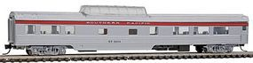 Con-Cor 85 Smooth-Side Mid-Train Dome Southern Pacific N Scale Model Train Passenger Car #40232
