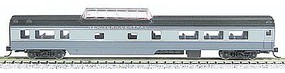 Con-Cor 85 Smooth-Side Mid-Train Dome New York Central N Scale Model Train Passenger Car #40235