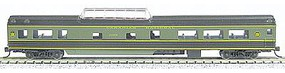 Con-Cor 85 Smooth-Side Mid-Train Dome Canadian Nation N Scale Model Train Passenger Car #40237