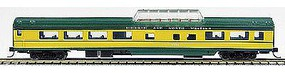 Con-Cor 85 Smooth-Side Mid-Train Dome Chicago & Northern N Scale Model Train Passenger Car #40238