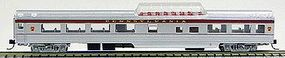 Con-Cor 85 Smooth-Side Mid-Train Dome Pennsylvania Railroad N Scale Model Train Passenger Car #40239