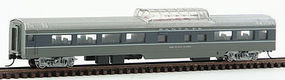 Con-Cor 85 Passenger dome ATSF Scout N Scale Model Train Passenger Car #40246