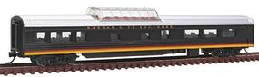 Con-Cor 85 Smooth-Side Mid-Train Dome Kansas City Southern N Scale Model Train Passenger Car #40250