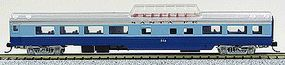 Con-Cor 85 Smooth-Side Mid-Train Dome Santa Fe N Scale Model Train Passenger Car #40252