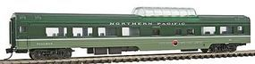 Con-Cor 85 Smooth-Side Mid-Train Dome Northern Pacific N Scale Model Train Passenger Car #40255