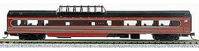 Con-Cor 85 Smooth-Side Mid-Train Dome Pennsylvania Railroad N Scale Model Train Passenger Car #40258