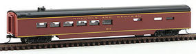 Con-Cor 85 Passenger Diner Car Norfolk & Western N Scale Model Train Passenger Car #40272