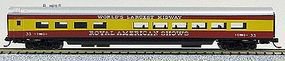 Con-Cor 85 Smooth-Side Diner Royal American Shows N Scale Model Train Passenger Car #40273