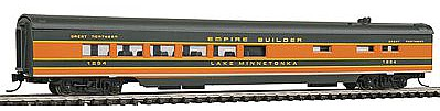 Con-Cor 85' Smooth-Side Diner Great Northern ''Empire Builder'' -- N Scale Model Passenger Car -- #40274