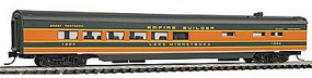 Con-Cor 85 Smooth-Side Diner Great Northern Empire Builder N Scale Model Passenger Car #40274