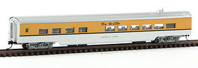 Con-Cor 85 Passenger Diner Car DRGW N Scale Model Train Passenger Car #40283