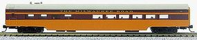 Con-Cor 85 Smooth-Side Diner Milwaukee Road N Scale Model Train Passenger Car #40286