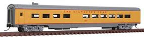 Con-Cor 85 Smooth-Side Diner Milwaukee Road N Scale Model Train Passenger Car #40292