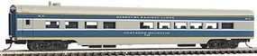 Con-Cor 85 Smooth-Side Diner Missouri Pacific Eagle N Scale Model Train Passenger Car #40303
