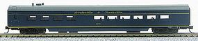 Con-Cor 85 Smooth-Side Diner Louisville & Nashville N Scale Model Train Passenger Car #40304