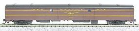 Con-Cor 85 Smooth-Side Full Baggage Pennsylvania Railroad N Scale Model Train Passenger Car #40321
