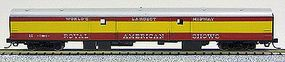 Con-Cor 85 Smooth-Side Full Baggage Royal American Showman N Scale Model Train Passenger Car #40323