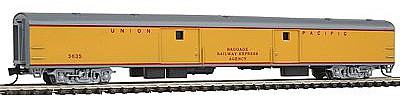 Con-Cor 85' Smooth-Side Full Baggage Union Pacific -- N Scale Model Train Passenger Car -- #40325