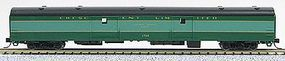 Con-Cor 85 Smooth-Side Full Baggage Southern Railway N Scale Model Train Passenger Car #40331