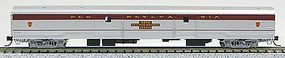 Con-Cor 85 Smooth-Side Full Baggage Pennsylvania Rail N Scale Model Train Passenger Car #40339