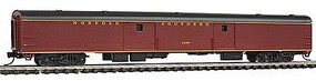 Con-Cor 85 Smooth-Side Full Baggage Norfolk Southern N Scale Model Train Passenger Car #40344