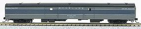 Con-Cor 85 Smooth-Side Full Baggage Union Pacific Overland N Scale Model Train Passenger Car #40347