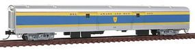 Con-Cor 85 Smooth-Side Full Baggage Delaware & Hudson N Scale Model Train Passenger Car #40357