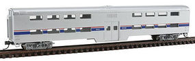Con-Cor PS Bi-Level Smooth Side Coach Amtrak N Scale Model Train Passenger Car #40526