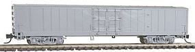Con-Cor Material Handling Car Express Box Car Undecorated N Scale Model Train Freight Car #40600